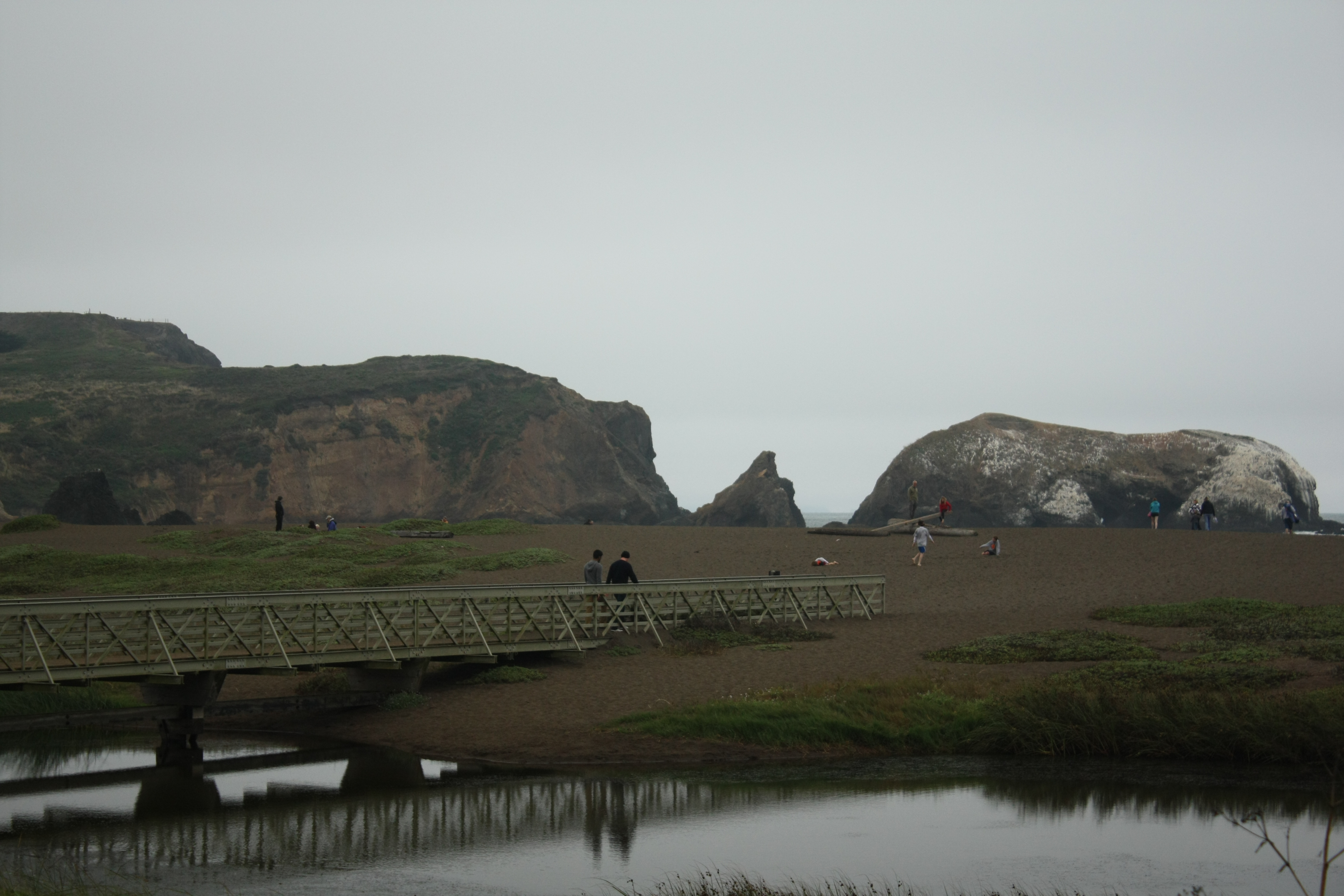The lagoon and beach were our playground and scenario location