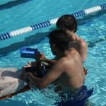 Shallow Water Backboarding